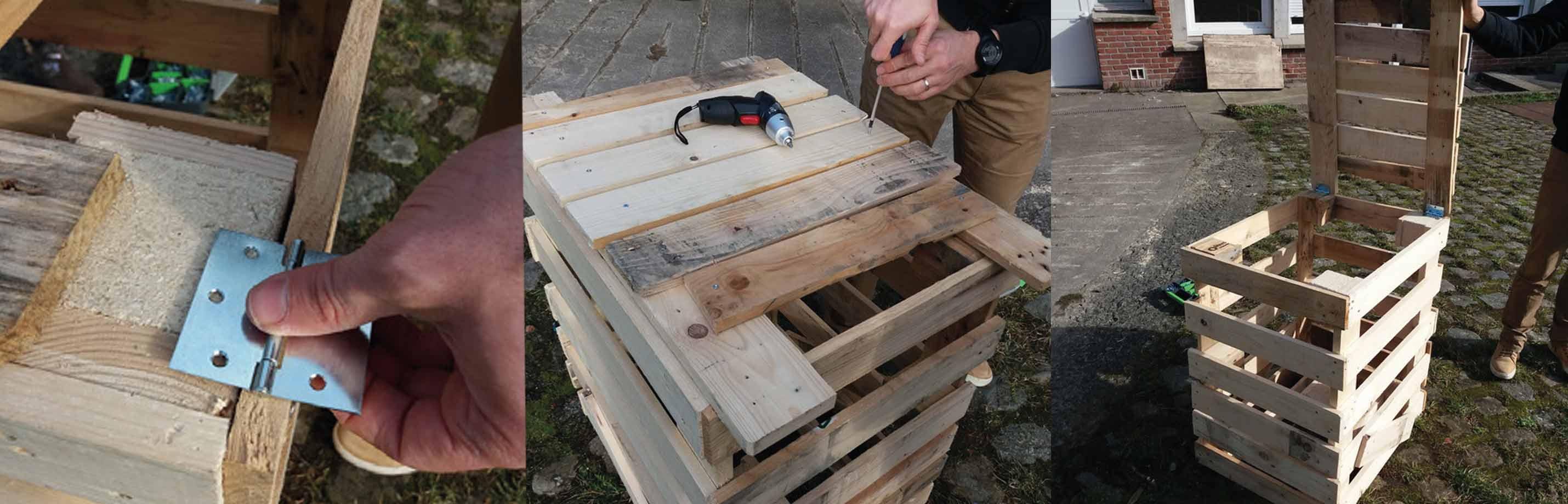 Fabriquer Un Composteur Avec Des Palettes fabriquer un composteur en palettes / fiches pratiques